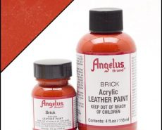 brick leather paint