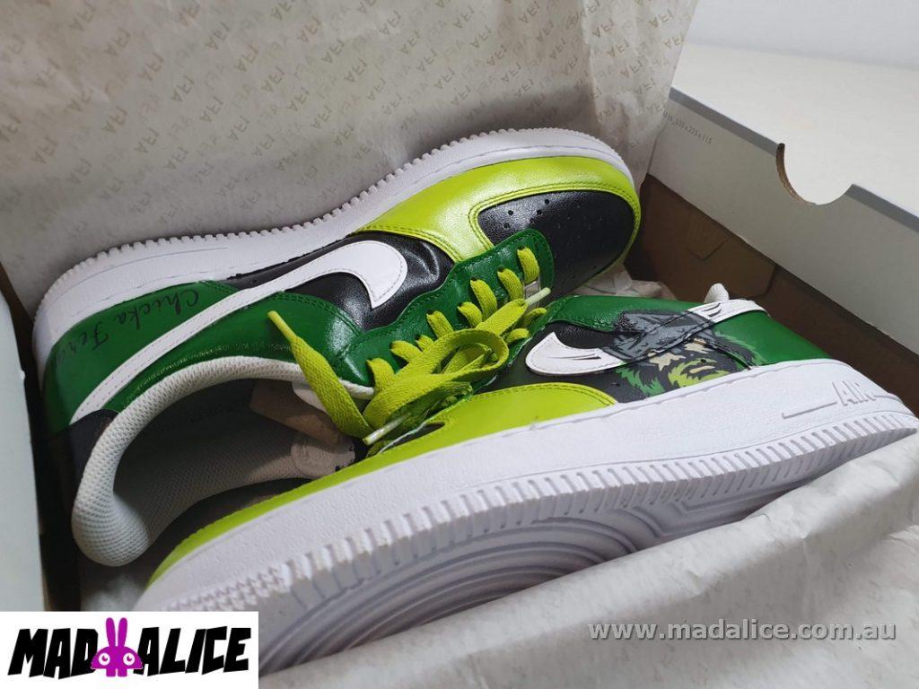 canberra raiders custom shoes