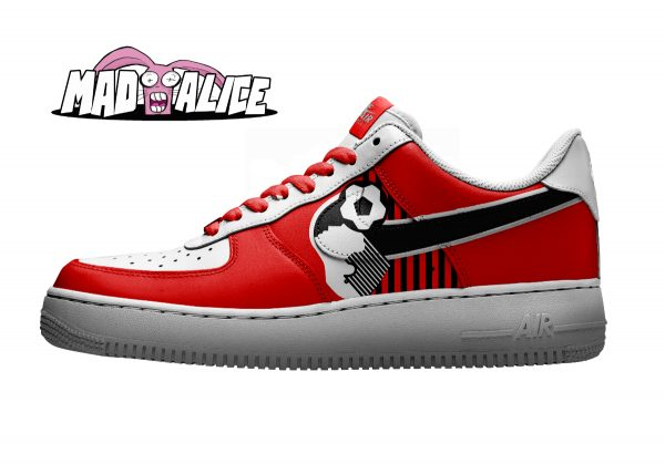bournmouthfc custom painted shoes