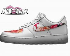 custom roses nike shoes