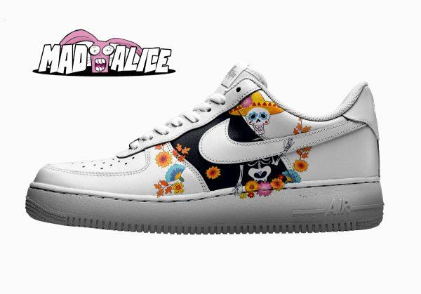 partyskeleton custom shoes