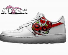 dod skull shoes