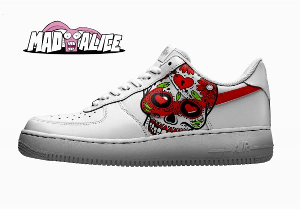 dod skull shoes