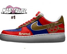 arsenal custom shoes