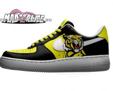custom painted shoes nike richmond tigers