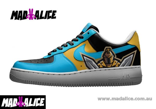 titans custom painted shoes