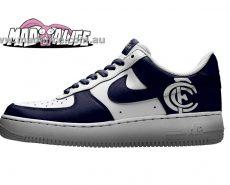 custom painted shoes carlton afl
