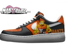 custom painted afl giants shoes