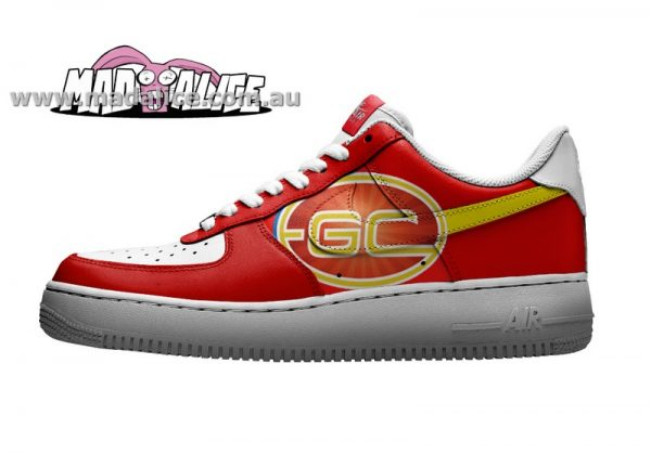 custom painted shoes gold coast suns