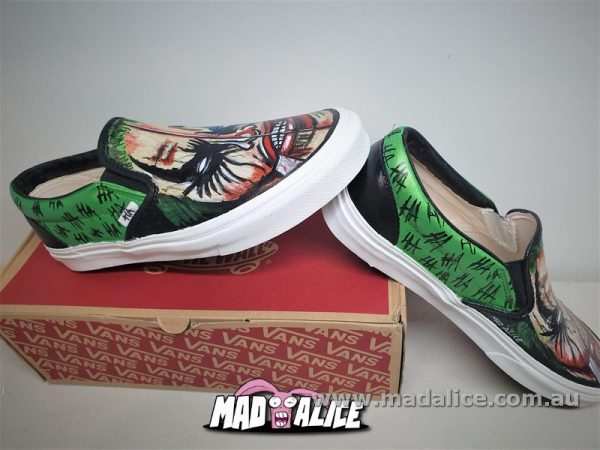 hand painted shoes joker2