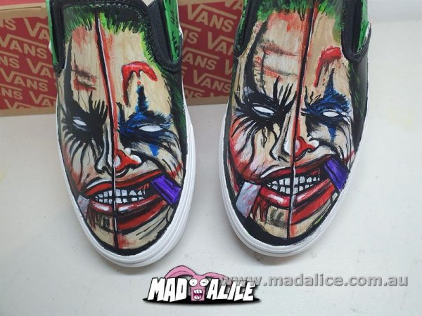 hand painted shoes joker