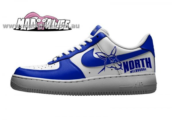 custom painted north melbourne shoes