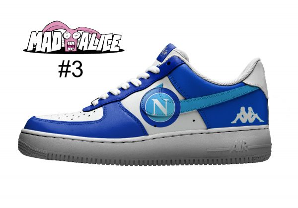 handpainted soccer napoli shoes