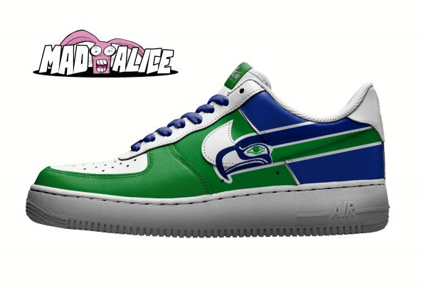 seahawks custom shoes