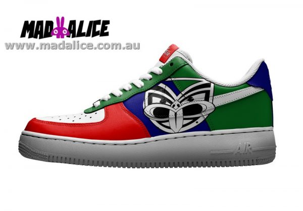custom painted warriors shoes