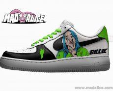billie eilish custom painted shoes