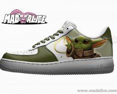 baby yoda custom nike shoes