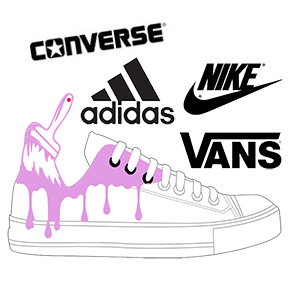 hand painted custom sneakers shoes australia