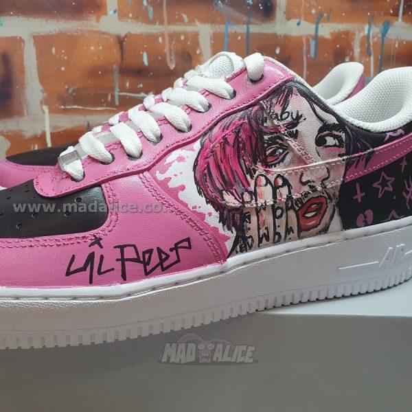 lil peep custom sneakers