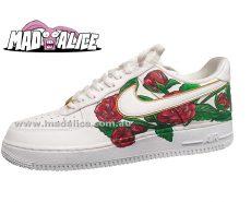 custom painted roses AF1