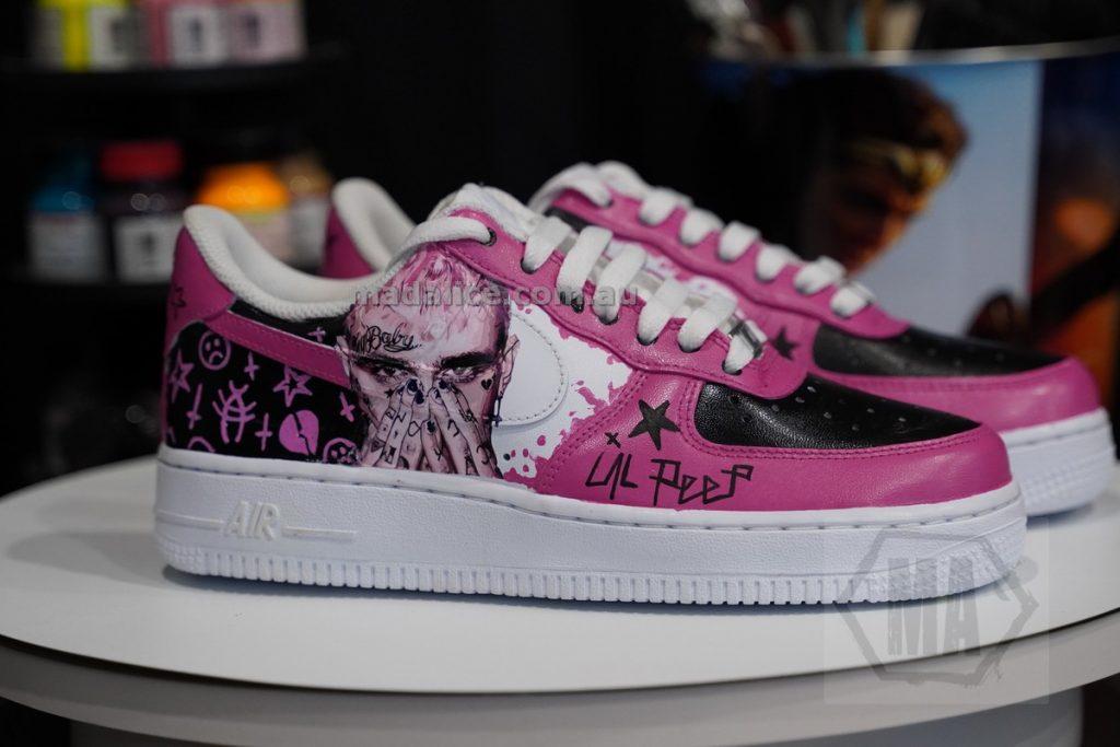 Lil Peep custom shoes