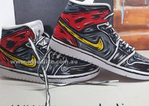 hand painted nike