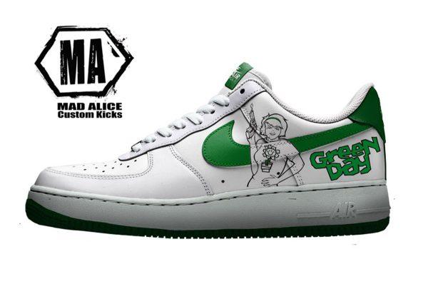 greenday custom sneakers