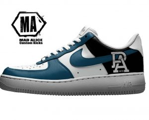 port adelaide custom nike shoes