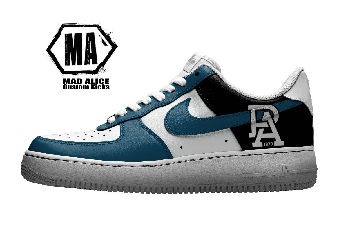port adelaide custom nike shoes