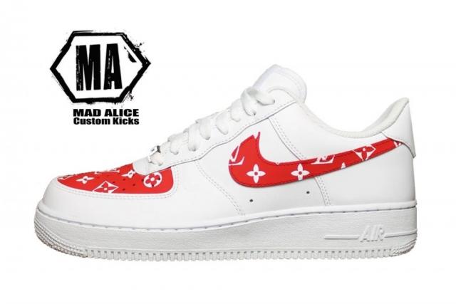 Lv painted shoes Australia