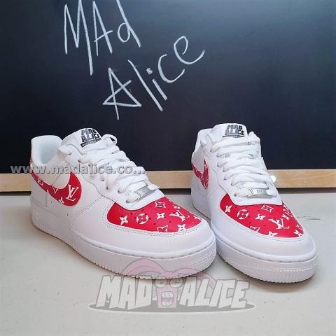 Custom painted Nike shoes LV AF1 australia