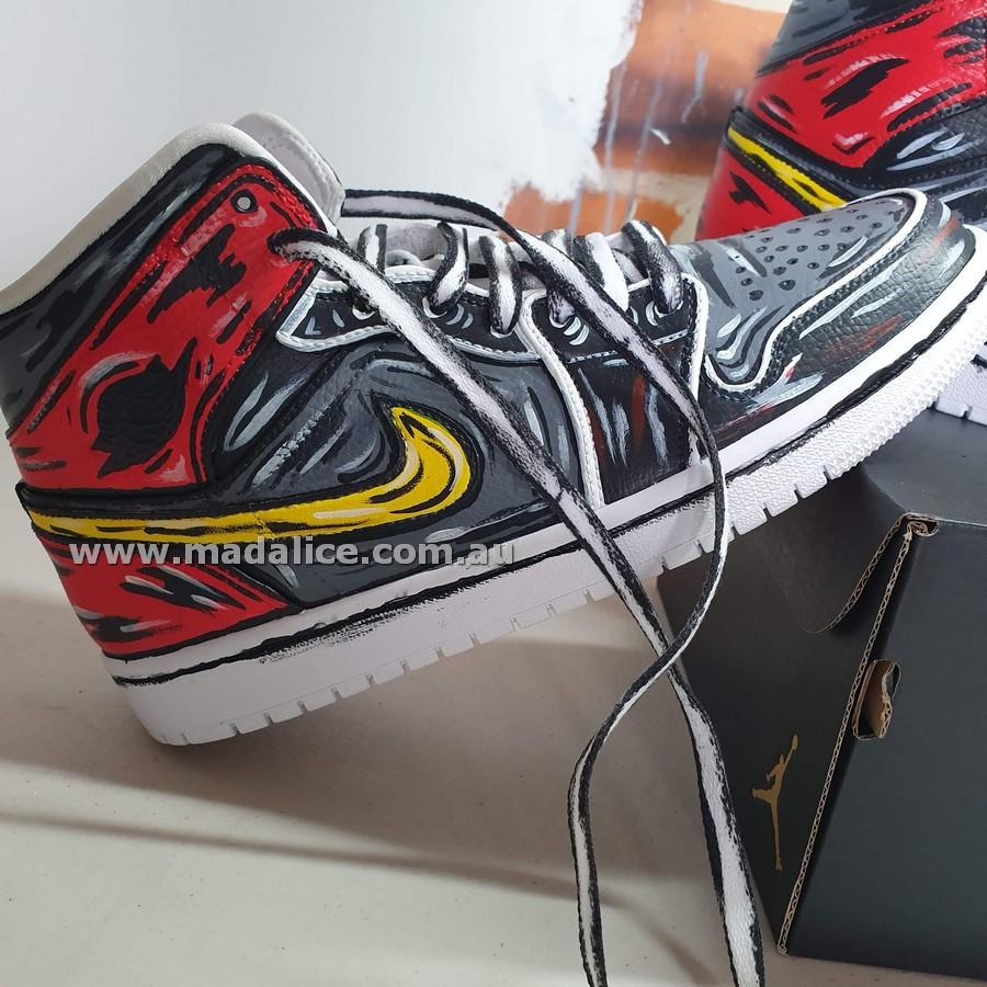Custom painted shoes Australia