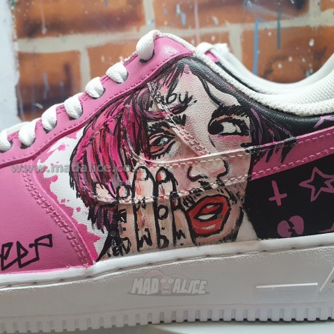 Custom shoes lil peep Australia
