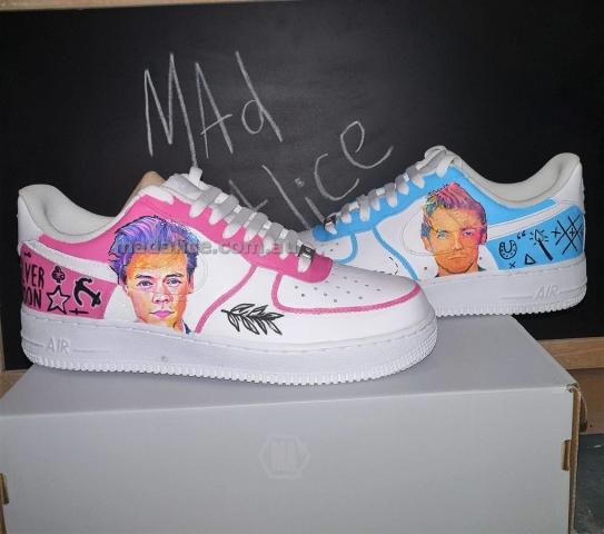 Custom Harry Styles Kicks Australia