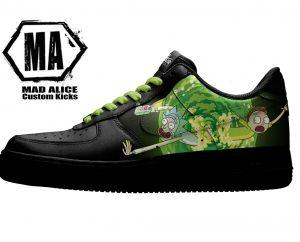 rickmorty custom shoes