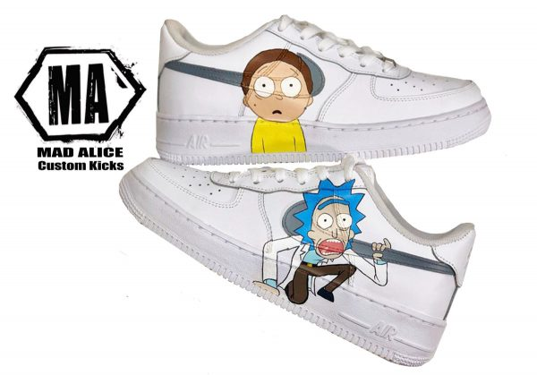 rick morty customs