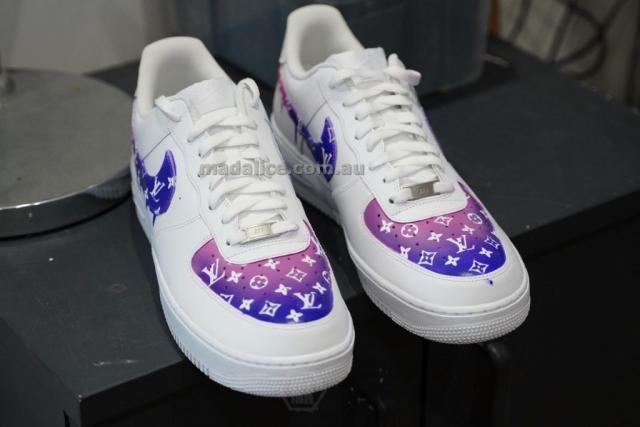 Custom LV shoes Australia
