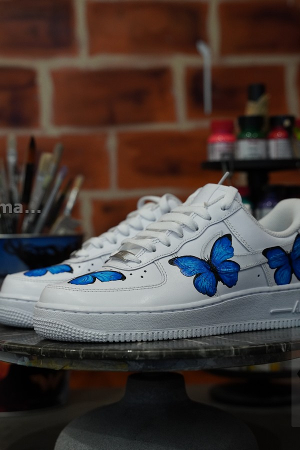 custom butterfly shoes