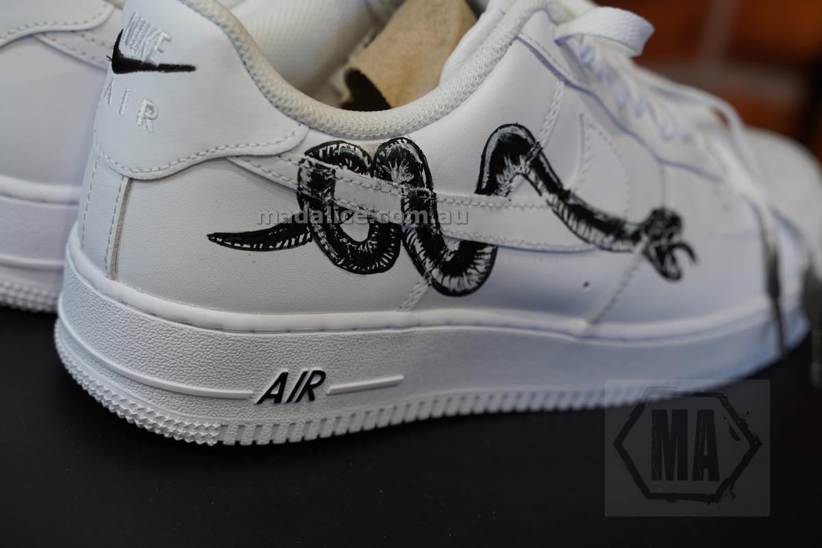 snake custom af1
