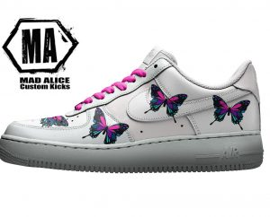 butterfly custom kicks