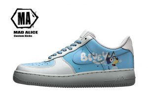 bluey custom kids shoes