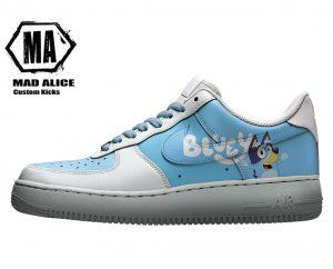 bluey custom kids shoes
