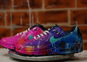 graffiti airbrushed nike