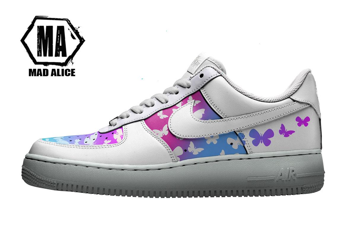 butterfly custom af1