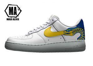 custom parra eels shoes