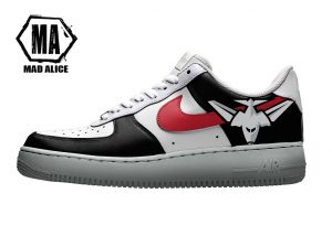 essendon bombers custom shoes