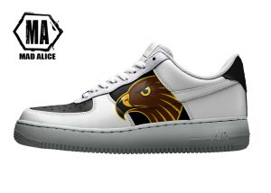 custom brisbane hawks shoes