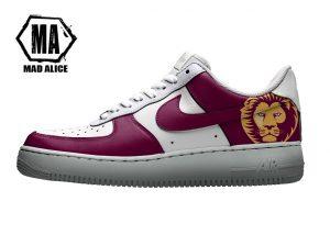 custom brisbane lions shoes