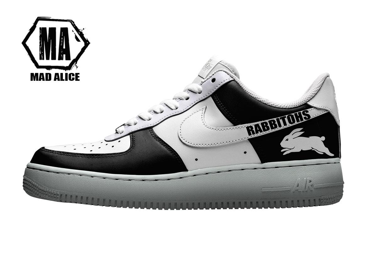 rabbitohs custom shoes