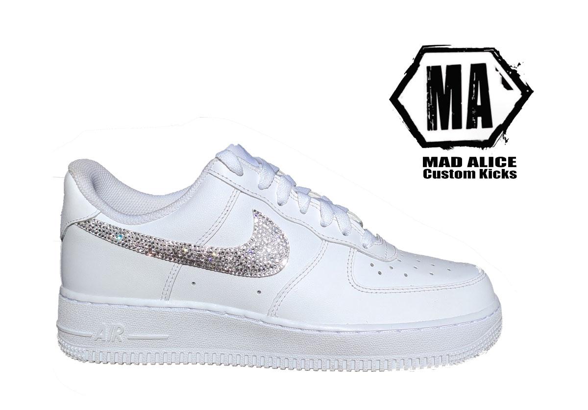 diamond swarovski Crytal Nike Af1